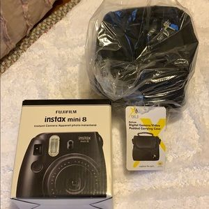 instax mini 8 camera NEW with case